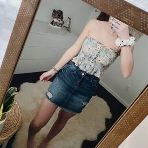 AE Floral Tube Top